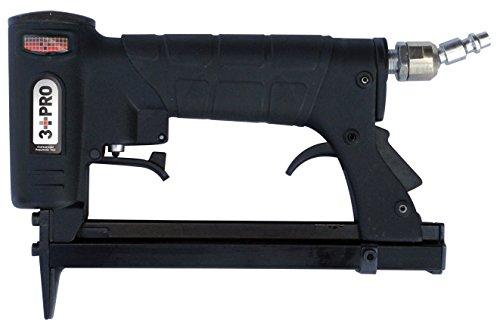 3 PRO 7116P 38-Inch Crown Fine Wire Stapler 9x2x6-Inch BlackRed