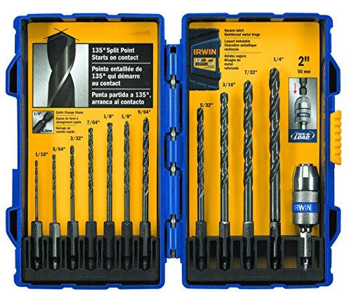 IRWIN Tools Black Oxide Hex Shank Drill Bit 564-Inch 4935643