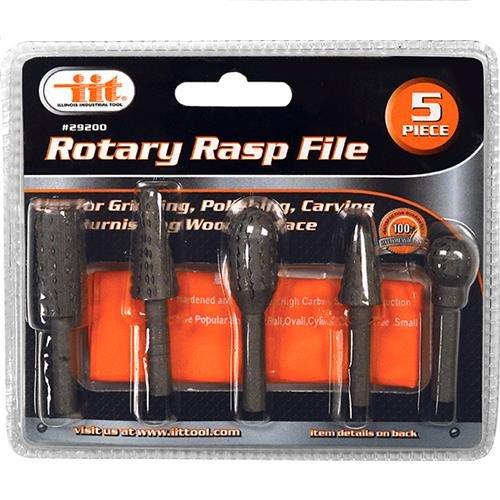 IIT 29200 Rotary Rasp File 5-Piece
