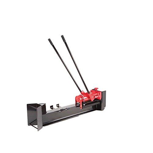 Gracelove 10 Ton Horizontal Log Splitter Wood Cutter Manual Hydraulic 2 Speed Wheel