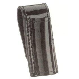 Hi High Gloss Police Duty Belt Mini Mag Maglite Flashlight Holder Case Black