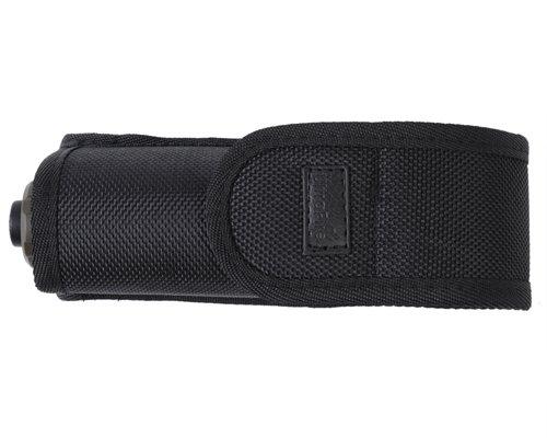 UltraFire 117 Flashlight Pouch Holster Belt Carry Case Holder for Ultrafire C2 C8 Flashlight Torch Black