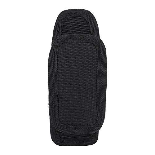 Flashlight Bag-Portable Flashlight Waist Pouch LED Torch Holder with Rotation Belt Clip