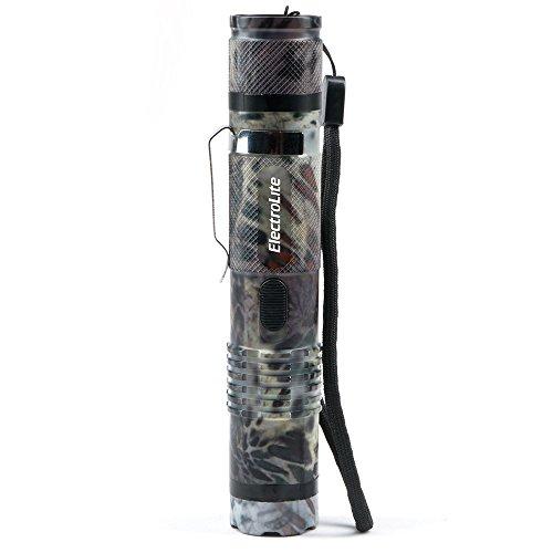 Guard Dog ElectroLite Prym1 Camo Edition Stun Gun Flashlight with Belt Clip Maximum Voltage 140 Lumen Light High Country