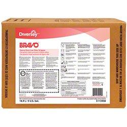Diversey Bravo Heavy Duty Low Odor Stripper - 5 Gal
