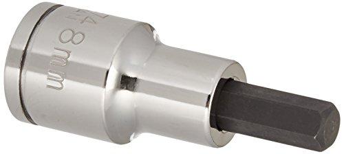 Williams 35274 12-Inch Drive Hex Bit Socket 8mm