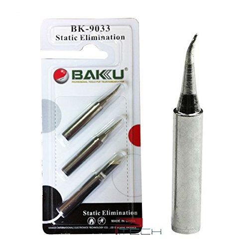 BAKU 3 Tips  Set Soldering Iron Tip Tool Kit For 900M 878L2