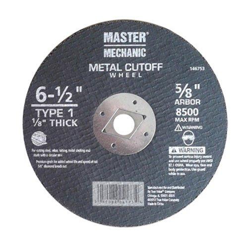 DISSTON COMPANY 146753 Arbor Metal Wheel Abrasive Saw Blade 6-12 X 18