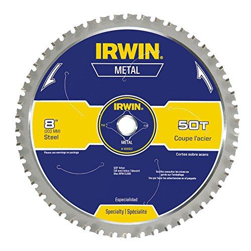 IRWIN Tools Metal-Cutting Circular Saw Blade 8-inch 50T 4935557