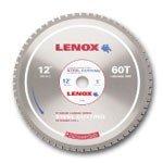 Lenox 12 x 60 Tooth Count Metal Cutting Circular Saw Blades