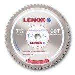 Lenox 7-14 x 60 Tooth Count Metal Cutting Circular Saw Blades