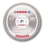 Lenox 7-14 x 68 Tooth Count Metal Cutting Circular Saw Blades