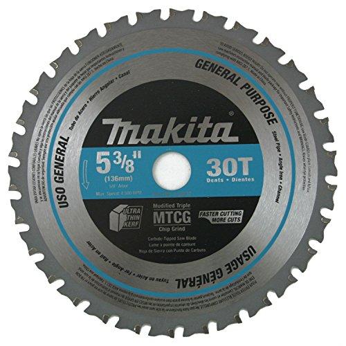 Makita A-95037 5-38-in 30T Carbide-Tipped Metal Cutting Saw Blade GH45843 3468-T34562FD213274