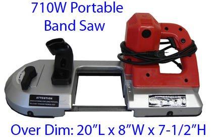 700 Watt Portable Metal Cutting Band Saw 4-12