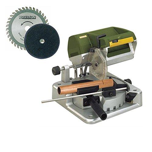 Proxxon 37160 KGS 80 MICRO Chop Saw with Cut-Off Wheel 36T 85mm Saw Blade