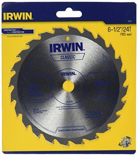 IRWIN Tools Classic Series Carbide Cordless Circular Saw Blade 6 12-inch 24T 15120