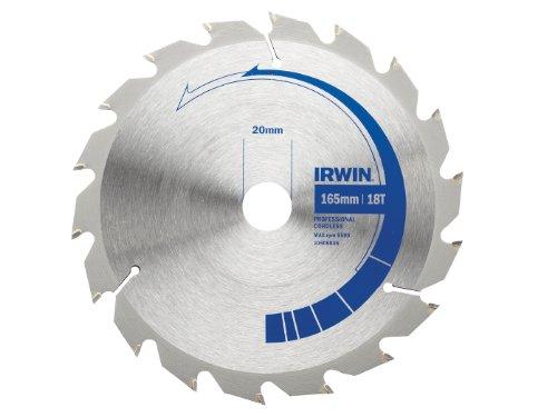 Irwin Cordless Circular Saw Blade 165 X 20Mm X 24T