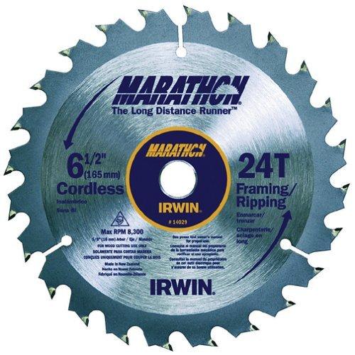 Irwin Marathon 14029 6-12 24T Marathon Cordless Circular Saw Blade