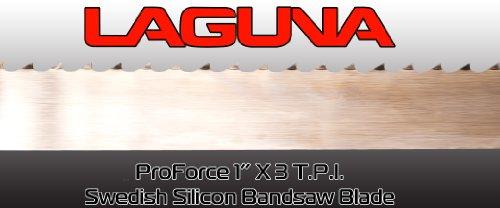 1 X 3 TPI X 137 BandSaw Blade Laguna Tools Proforce Wood Band Saw Blade