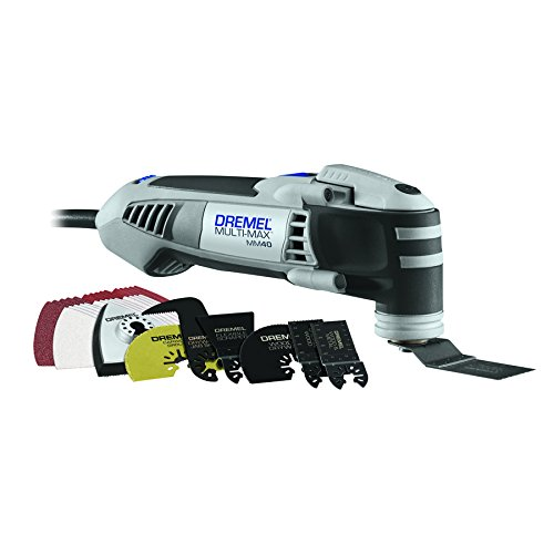 Dremel MM40-06 Multi-Max 38-Amp Oscillating Tool Kit with Quick-Lock Accessory Change Interface and 36 Accessories