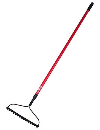 Bully Tools 92379 16 Bow Rake 66 Fiberglass Handle