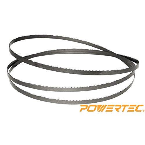 POWERTEC 13186X Band Saw Blade 70-12-Inch x 12-Inch x 3 TPI x 0025