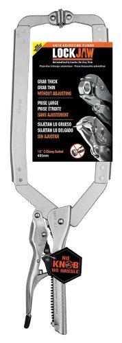 CH Hanson 18201 19-Inch Self-Adjusting Locking Long Reach C-Clamp with Swivel Pads by CH Hanson