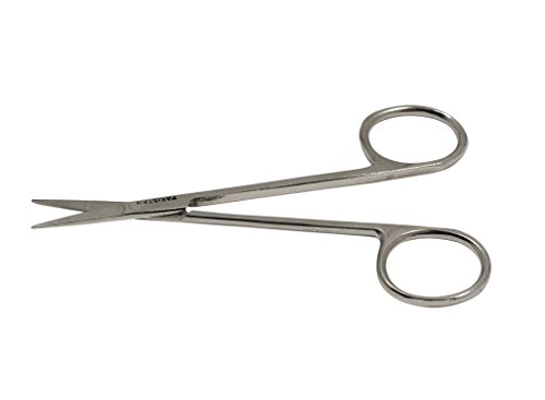 SE SP17 45 Stainless Steel Thin Scissor with Straight Tip