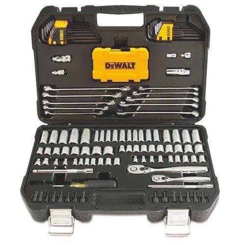 DeWalt DWMT73802 Mechanics Tool Kit Set with Case 142 Piece