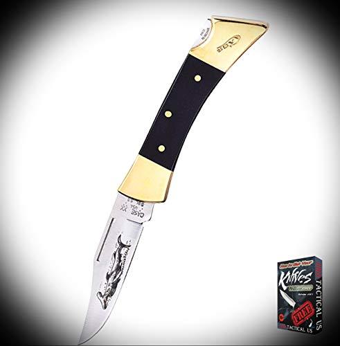 New Case Hammerhead Black Lockback Brass Bolsters Folding Pocket ProTactical Elite Knife 3964RT  Free eBook