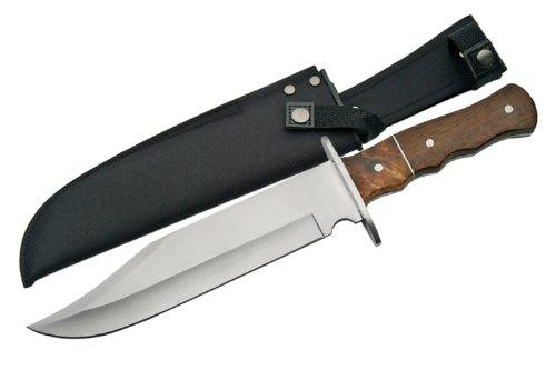 Szco Supplies Burlwood Alamo Bowie Knife