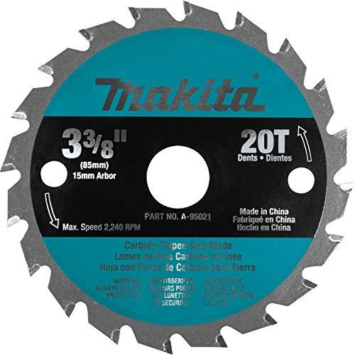Makita A-95021 3-38-Inch TCT Saw Blade For Wood