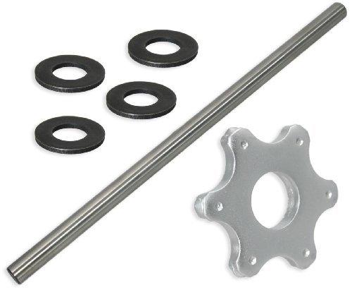 6 pt Carbide Flail Cutter Consumables Kit for Edco CPM-8 ScarifierConcrete Planer - Fine Setup