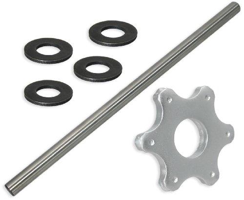 6 pt Carbide Flail Cutter Consumables Kit for Edco CPM-8 ScarifierConcrete Planer - Super Fine Setup