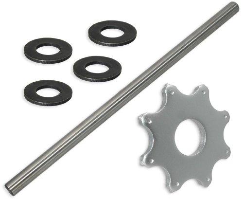 8 pt Carbide Flail Cutter Consumables Kit for Edco CPU-12 ScarifierConcrete Planer - General Setup