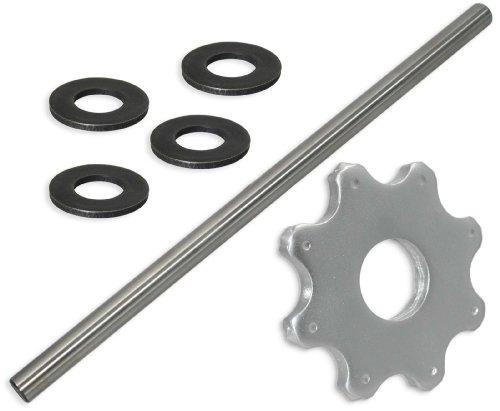 8 pt Carbide Flail Cutter Consumables Kit for Sase SC10E ScarifierPlaner - General Setup