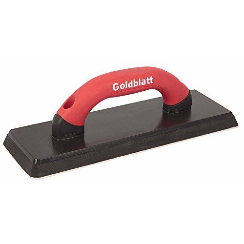 Goldblatt G02723 12-in x 4-in Gum Rubber Grout Float Soft Grip
