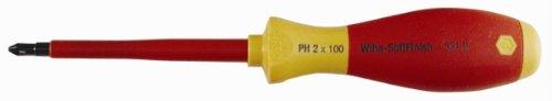 Wiha Tools SoftFinish Insulated Screwdrivers - ph3 x 150mm phillips insul