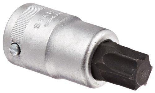 Stahlwille 59TX-T90 Chrome Alloy Steel Torx Screwdriver Socket 34 Drive 199mm Diameter 80mm Length 347mm Width