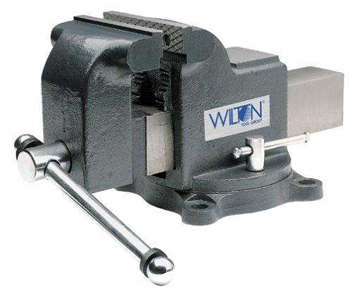 Wilton Model WS4 Jaw Width 4-Inch Throat Depth 2-34-Inch Shop Vise