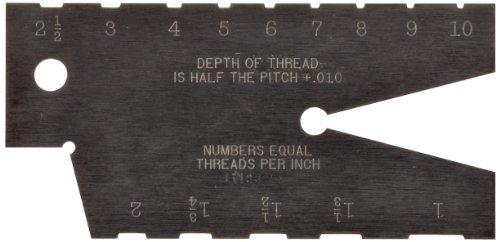 Starrett 284 Acme Standard Screw Thread Gauge Hardened 29 Degree Angle by Starrett