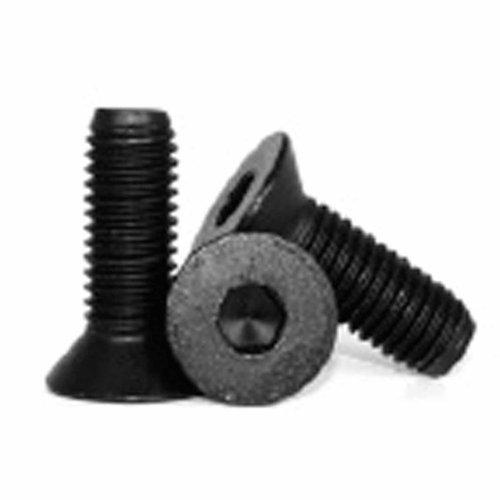 Metric M4 X 6mm Flat Head Socket Cap Screw Black Pack of 10