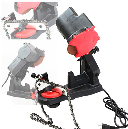 ELECTRIC GRINDER CHAIN SAW BENCH SHARPENER VISE MOUNT WGRIND CHAINSAW WHEEL