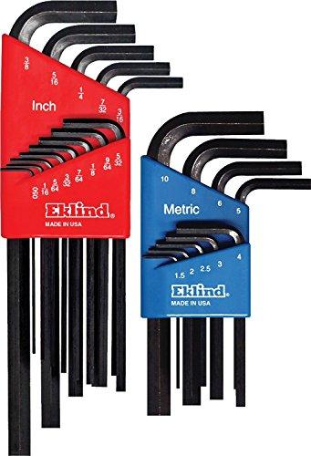 Eklind 10022 Metric Standard 22pc Hex Key Set