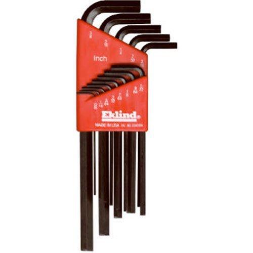 Eklind 10213 Standard 13pc Hex Key Set 005 to 38 - Long