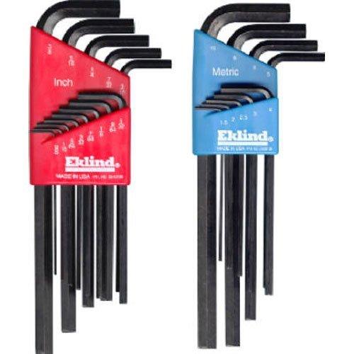 Eklind 10222 Metric Standard 22pc Hex Key Set  - Long