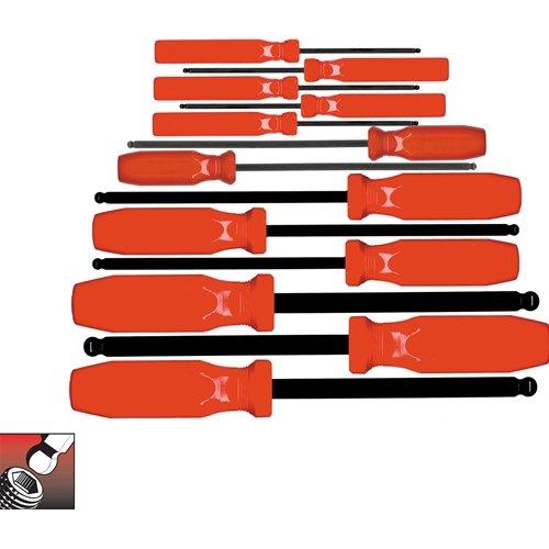 Eklind 90113 Eklind 13 pc Series Ball-Hex Screwdriver Set with Pouch 50 - 38