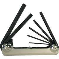 Eklind Tool EKL21172 7 Piece Folding Metric Hex Key Set 2-8mm