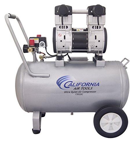 California Air Tools 15020C-22060 Ultra Quiet and Oil-Free 20 HP 150-Gallon Steel Tank Air Compressor
