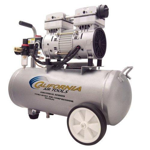 California Air Tools 6010LFC 10 HP Ultra Quiet and Oil-Free Industrial Air Compressor 60-Gallon